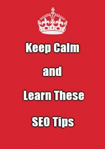 keep calm seo tips